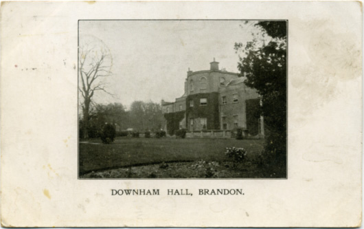 Downham-Hall-Postcard