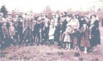 KING GEORGE 6th. CORONATION TREE PLANTING