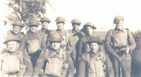 Home Guard - Mr Woods (Seargeant Major). Lance Corpral Broach, Lordie Rolph, Freddie Turner, Burt Turner,Albert Carter, Mr Maskell & Bill Colinson